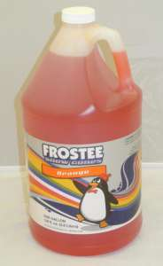Sno Cone Syrup – 1 Gallon Orange