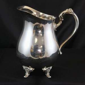 Silver Server, Pitcher