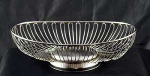 Chrome Basket, Open Wire