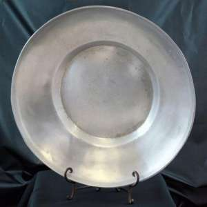 Aluminum, Round, Large