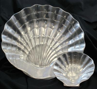 Aluminum, Shell, Large