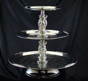 Stainless, 3 Tier