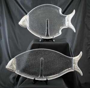 Lucite, Fish, 12″ X 14″