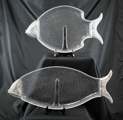 Lucite, Fish, 10″ X 18″