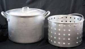 Pot, W/Basket, 5 Gallon (20 Qt.)
