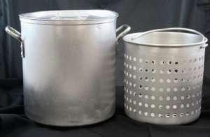 Pot, W/Basket, 10 Gallon (40 Qt.)