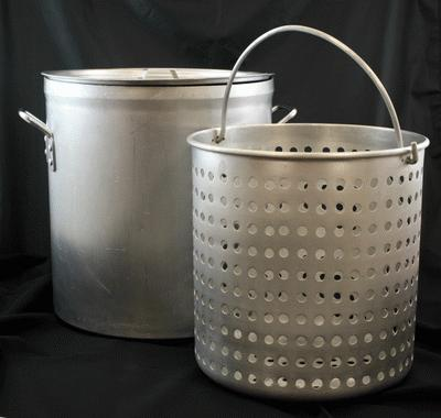 Pot, W/Basket, 15 Gallon (60 Qt.)