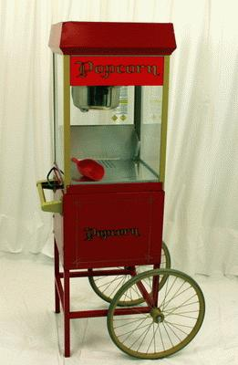 Popcorn Machine W/Cart