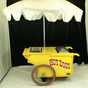 Hot Dog Cart, Complete