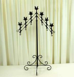Candelabra, 7 Light Adjustable, Onyx Bronze