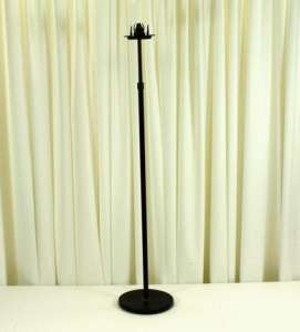 Candelabra, Aisle Single W/Glass Globe, Onyx Bronze