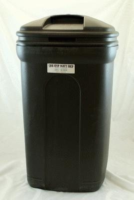 Trash Can, Large, W/Liner