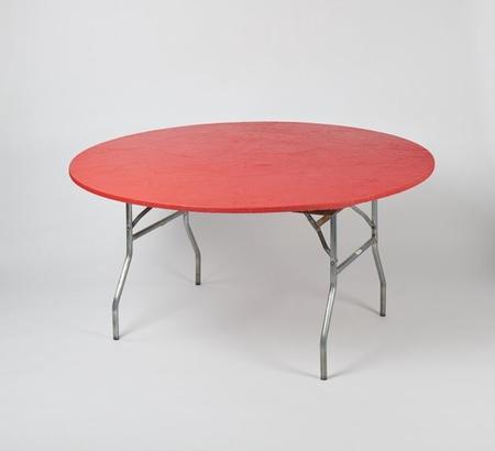 72″ Round – Red