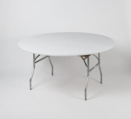 48″ Round – White