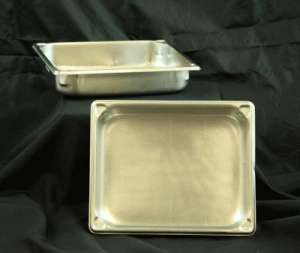Stainless, Extra Set Of Pans, 2″ Half