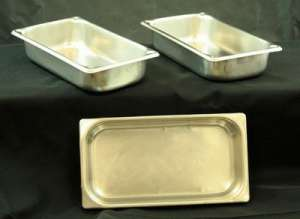 Stainless, Extra Set Of Pans, 2″ Triple