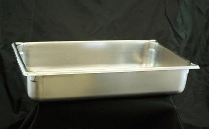 Stainless, Extra Set Of Pans, 4″ Full