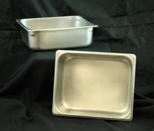 Stainless, Extra Set Of Pans, 4″ Half
