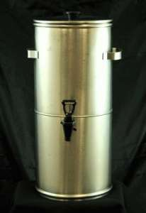 Tea Dispenser, Stainless, 3 Gallon