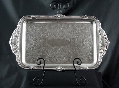 Silver, Rectangular – 10 X 17
