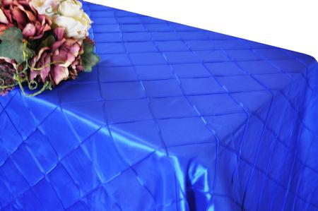 Royal Blue 90″ x 156″ Pintuck