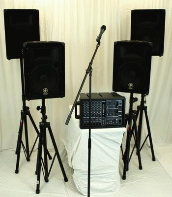 Yamaha Sound System – 600 Watt