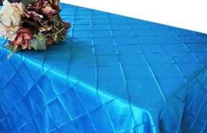 Turquoise 90″ x 156″ Pintuck