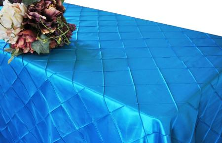 Turquoise 90″ x 156″ Pintuck