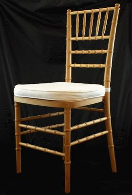 Chiavari, Natural, Wood Chair (Pad Separate)