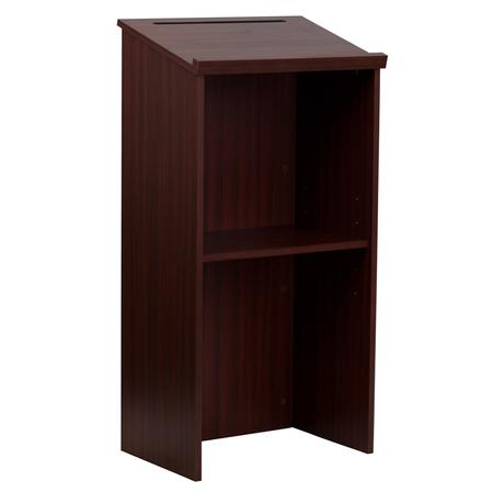 Mahogany Wooden Podium