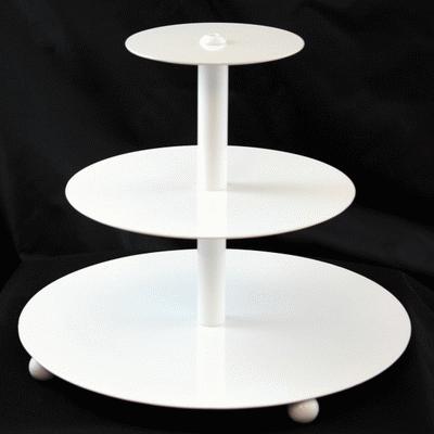 Mini Contemporary Cupcake Tree, White