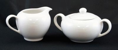 Sugar Bowl/Creamer Set