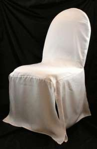 White, Banquet Chair Covers