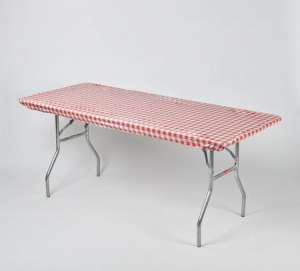 30″ X 72″ – Red Gingham