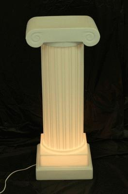 Lighted Base For 3′ Or 4′ Column