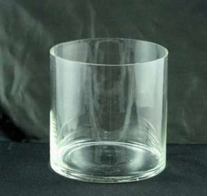Glass 6 X 6 Cylinder Vase, Clear