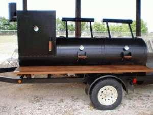 BBQ Pit Smoker (On Trailer)