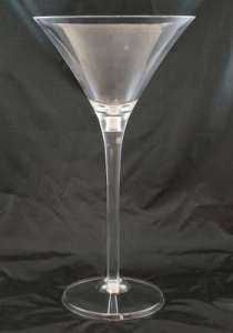 Martini Glass, 28″ Acrylic