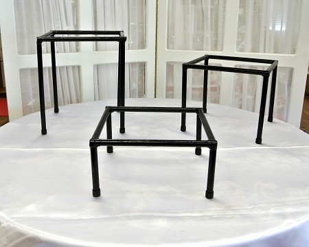 Stand, Square, 11″ High
