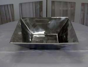 Aluminum Square, 9″