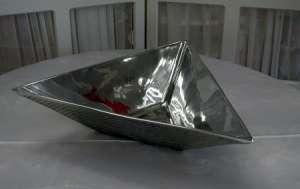 Aluminum Triangle, 18″