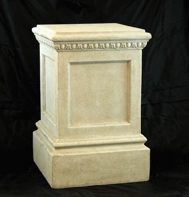 Antique 2′ Square Pedestal