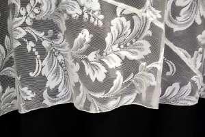 90″ Round Ivory Lace Round