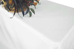 White 90″ x 132″