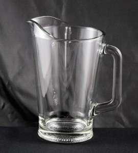 Pitcher, Glass