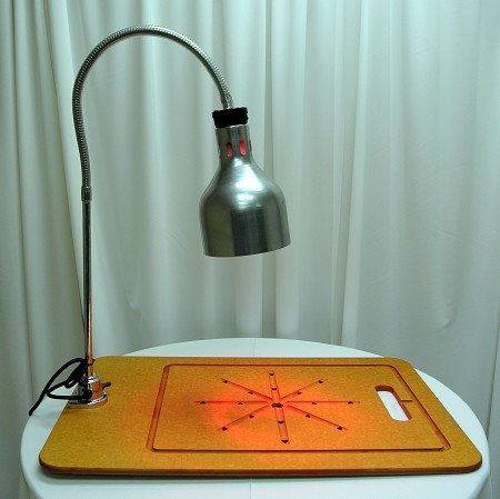 Carving Station W/ Infrared Lamp