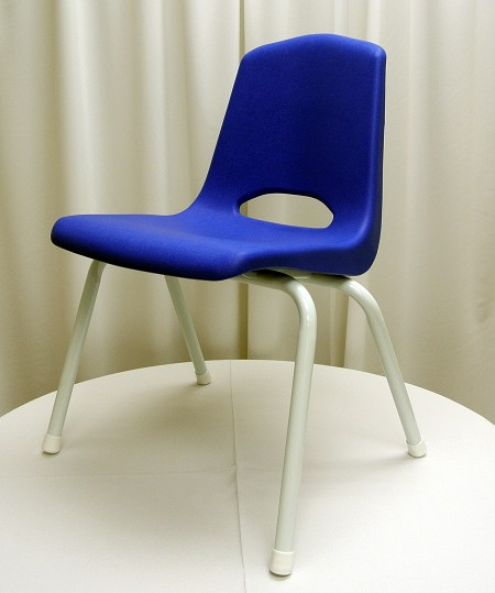 Children's Chair, Blue