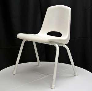 Children's Chair, White