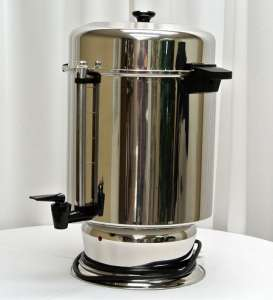 Stainless, Coffeemaker, 110 Cup Regal