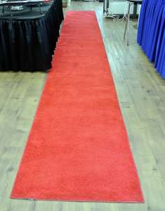 Carpet, Red, 3′ X 50′